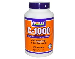 NOW Foods Vitamin C-1000 - 100 Таблетки - Витамин С