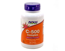 NOW Foods Vitamin C-500 - 100 Таблетки - Витамин С